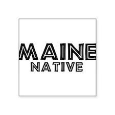 native_z_Maine_A Sticker