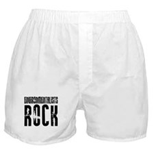 Environmentalists Rock Boxer Shorts