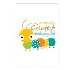 World's Greatest Bookkeep Postcards (Package of 8)