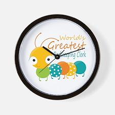 World's Greatest Bookkeeper Wall Clock