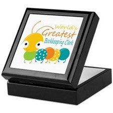 World's Greatest Bookkeeper Keepsake Box
