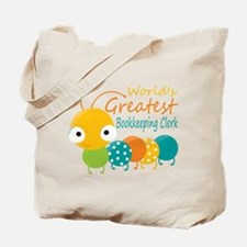 World's Greatest Bookkeeper Tote Bag