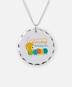 World's Greatest Bookkeeper Necklace