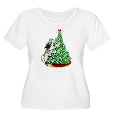Afghan Hound Domino BC ReachGoals T-Shirt
