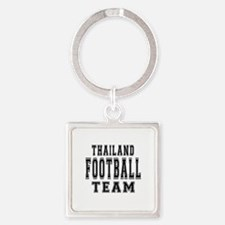 Thailand Football Team Square Keychain