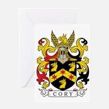 Cory Family Crest Greeting Card