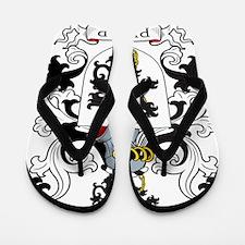 Phillip Family Crest Flip Flops