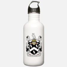 Woodley Family Crest Water Bottle