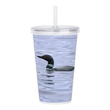 Unique Loon Acrylic Double-wall Tumbler