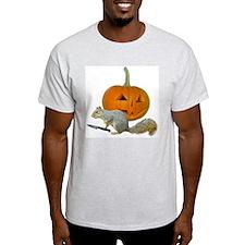 Squirrel Carving Pumpkin T-Shirt