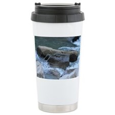 Cute Slippery rock Travel Mug