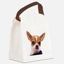 Funny Chihuahua Canvas Lunch Bag