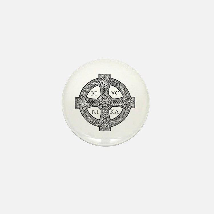 Purdy Cross Mini Button