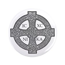 """Purdy Cross 3.5"""" Button (100 pack)"""