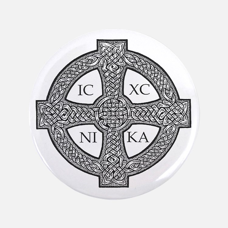 "Purdy Cross 3.5"" Button (100 pack)"