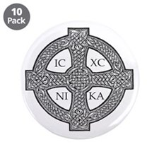 """Purdy Cross 3.5"""" Button (10 pack)"""