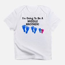 Cute Middle brother Infant T-Shirt