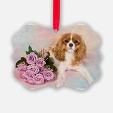 Cavalier King Charles Spaniel Wit Ornament