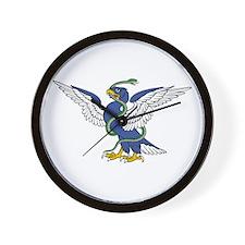 Eagle Serpent Wall Clock
