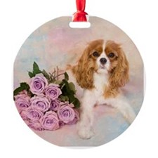 Cavalier King Charles Spaniel With  Ornament