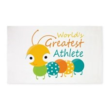 World's Greatest Athlete 3'x5' Area Rug