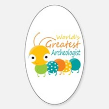World's Greatest Archaeologist Decal