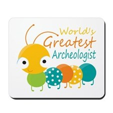 World's Greatest Archaeologist Mousepad
