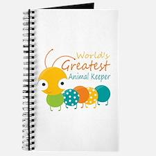 World's Greatest Animal Keeper Journal