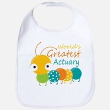 World's Greatest Actuary Bib