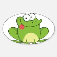 Silly Frog-2 Decal