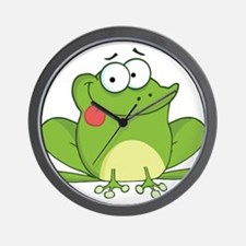 Silly Frog-2 Wall Clock