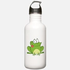 Silly Frog-2 Water Bottle