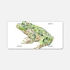 Filligree Frog Aluminum License Plate