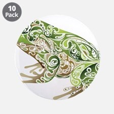 """Filligree Frog 3.5"""" Button (10 pack)"""