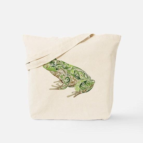 Filligree Frog Tote Bag