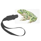 Frog Luggage Tags