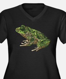 Filligree Frog Plus Size T-Shirt