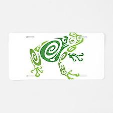Frog Tattoo Aluminum License Plate
