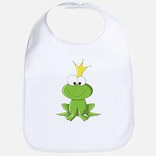 Baby Frog Prince Bib