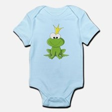 Baby Frog Prince Body Suit