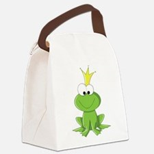 Baby Frog Prince Canvas Lunch Bag