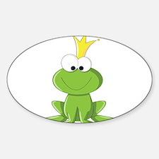 Baby Frog Prince Decal