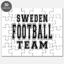 Sweden Football Team Puzzle