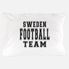 Sweden Football Team Pillow Case