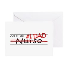 Job Dad Nurse Greeting Card