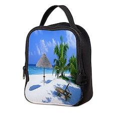 Beach Rest Neoprene Lunch Bag