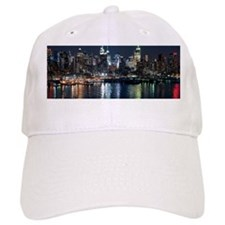 New York skyline Baseball Cap