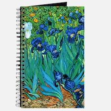 Van Gogh Garden Irises Nook Sleeve Journal