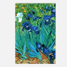 Van Gogh Garden Irises No Postcards (Package of 8)