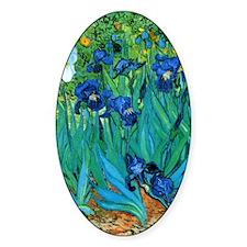 Van Gogh Garden Irises Nook Sleeve Decal